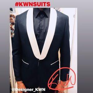 Other - (NWT) Designer KWN Suits - Christian Tuxedo Jacket
